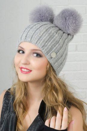 Гарні шапки для дівчат