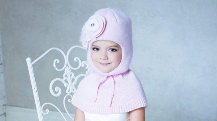 Шапка-шолом для дівчинки