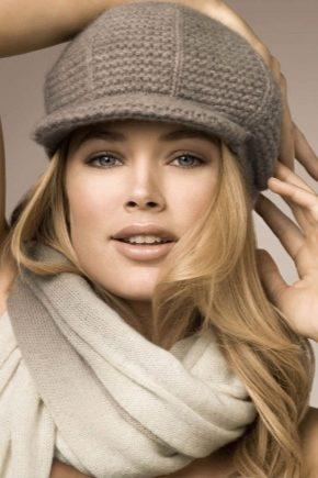 Осінні жіночі кепки