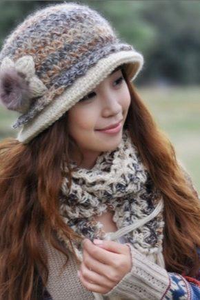 Жіночі зимові кепки