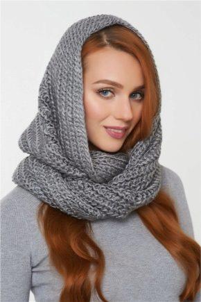 Шапка-шарф – дві стильні речі в одній