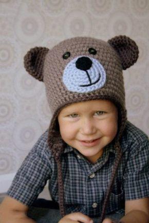 Вязані шапки для хлопчиків