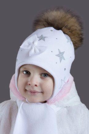 Дитячі шапки для хлопчиків і дівчаток