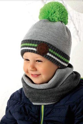 Шарф і шапку для хлопчика