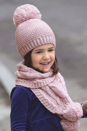 Шапки і шарфи для дітей