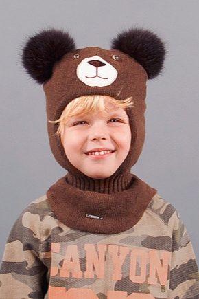 Шапка-шолом для хлопчика