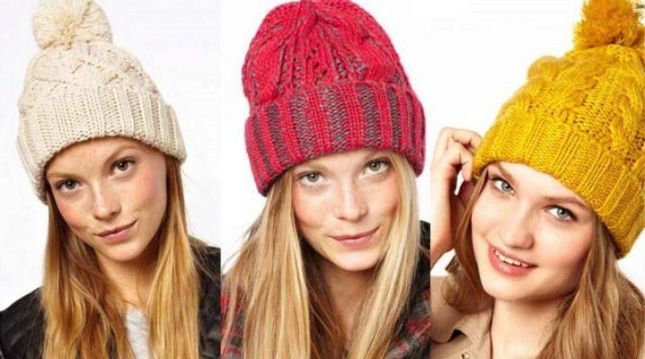 Модні візерунки для шапок