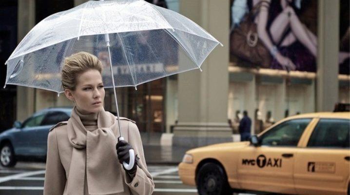 Прозорий парасольку