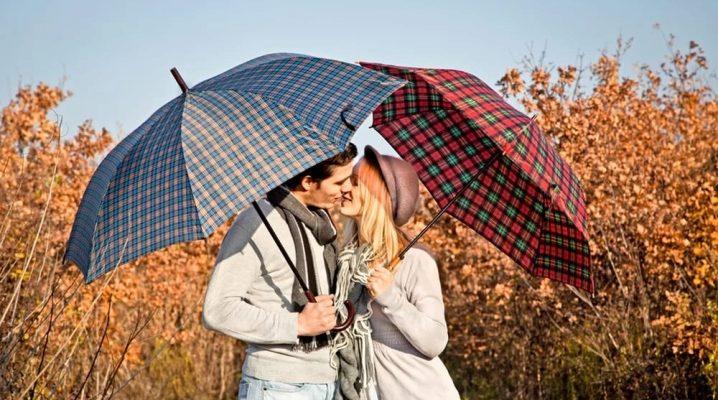 Як вибрати чоловічий парасольку автомат?