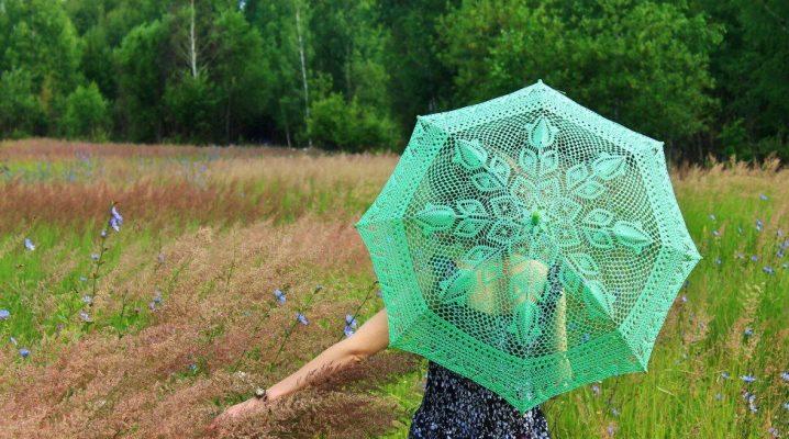 Зелений парасольку