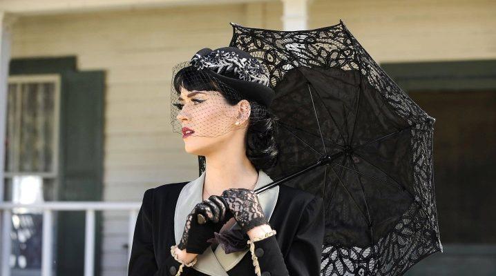 Чорний парасольку