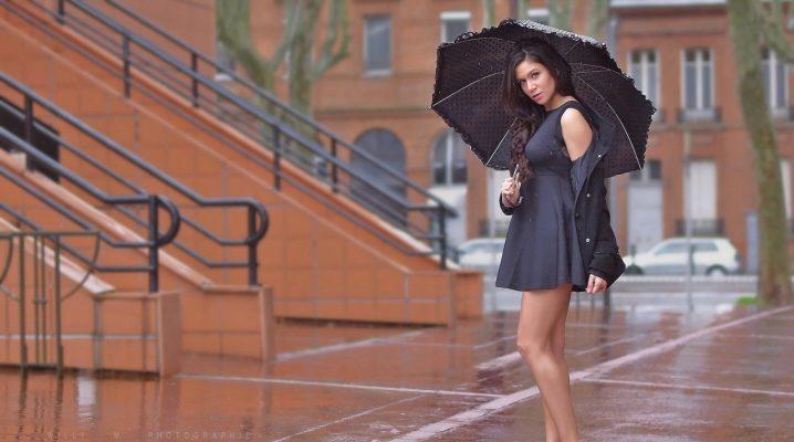 Шкіряний парасольку