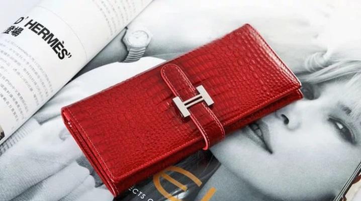 Модний жіночий шкіряний гаманець