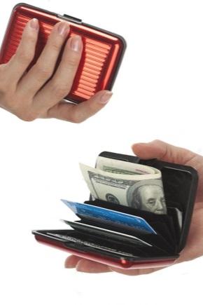 Алюмінієвий гаманець