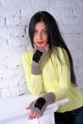 Вязані мітенки