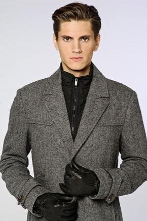 Шкіряні чоловічі рукавички