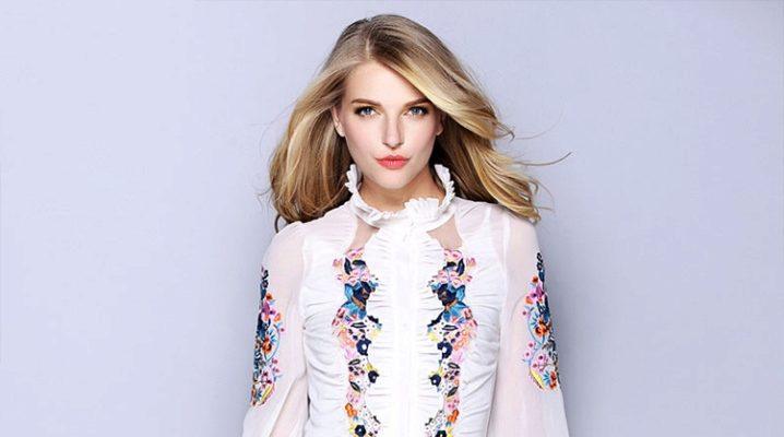 Блузки з шовку