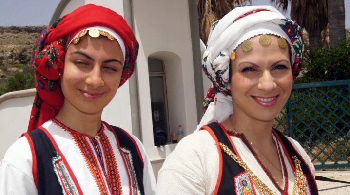 Національний грецький костюм