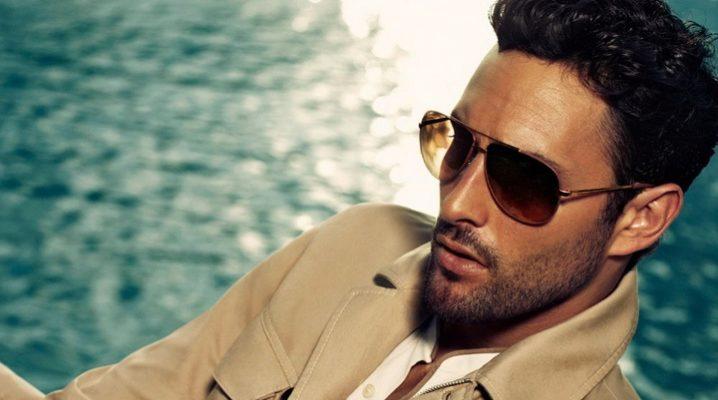 Брендові чоловічі сонцезахисні окуляри