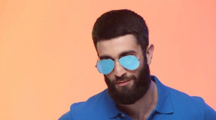 """Сонцезахисні чоловічі окуляри """"авіатори"""""""