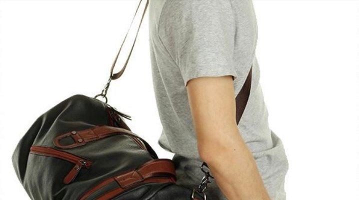 Шкіряні спортивні сумки для жінок і чоловіків