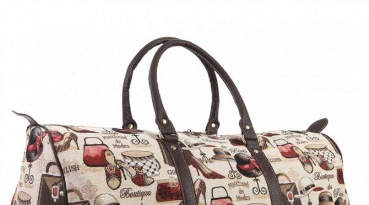Жіночі сумки з гобелена