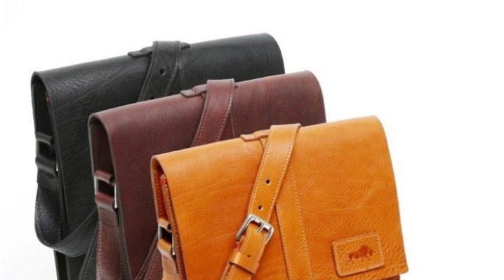Шкіряна сумка-планшет для чоловіків і жінок