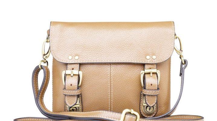 Шкіряна сумка через плече – все, що потрібно знати