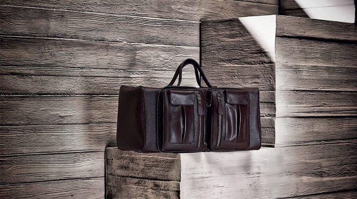 Стильні шкіряні дорожні сумки