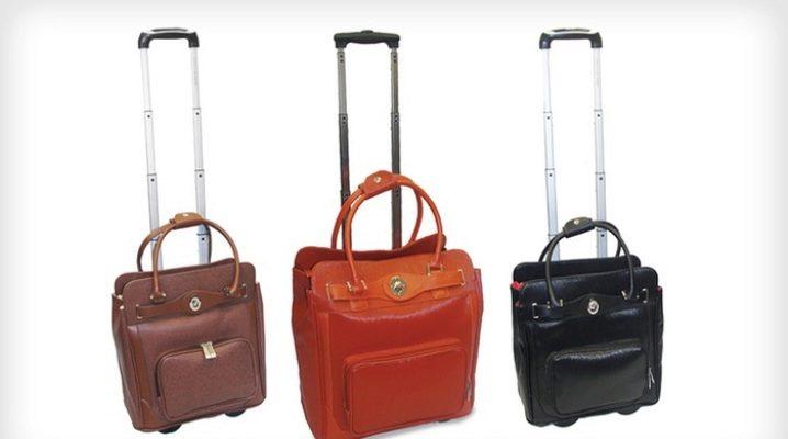 Дорожні сумки на колесах