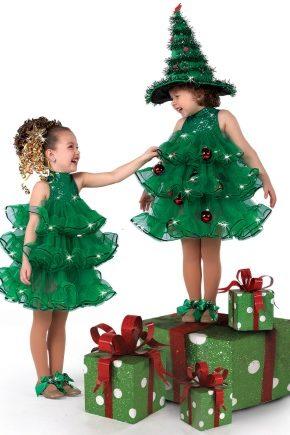 Костюм для дівчинки на Новий рік