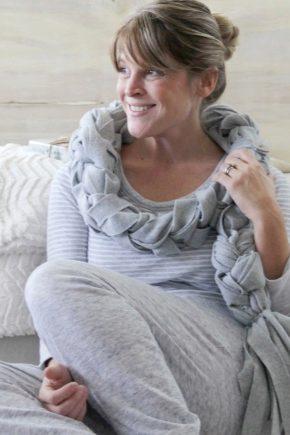 Флісовий шарф