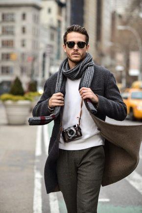 Як красиво зав'язати шарф чоловікові?