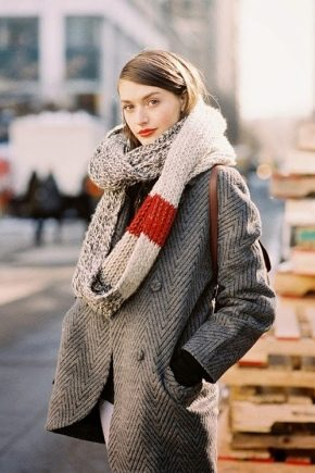 Як красиво зав'язати шарф на пальто – модні способи