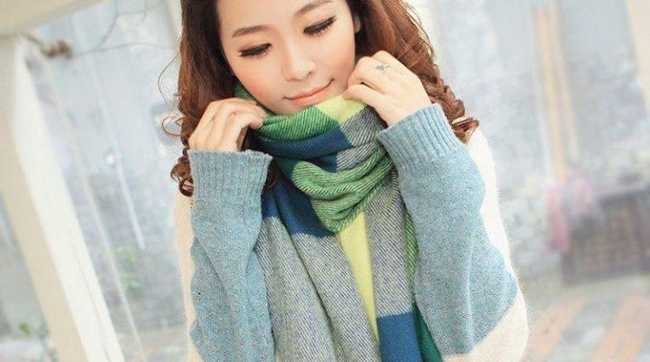 Стильний і теплий кашеміровий шарф