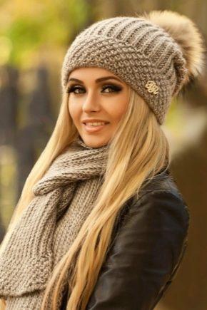 Зимові жіночі шарфи