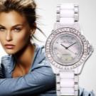 Жіночі годинники з керамічним браслетом