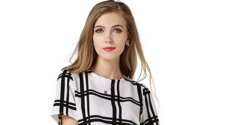 Блузка з коротким рукавом