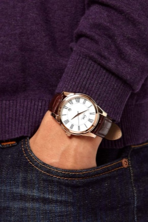 Шкіряний ремінь для годинника