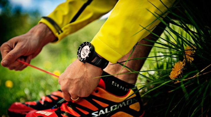 Спортивні наручний годинник