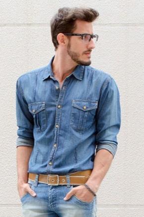 Чоловічий ремінь для джинсів