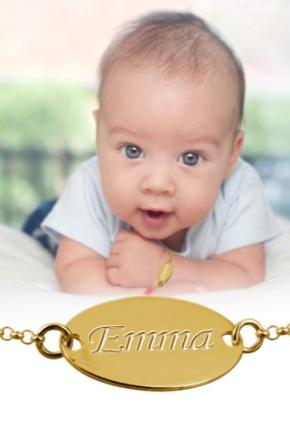 Дитячий золотий браслет