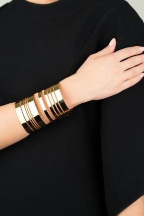 Жорсткий браслет із золота