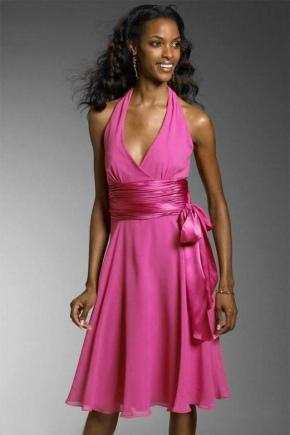 Атласний пояс для сукні