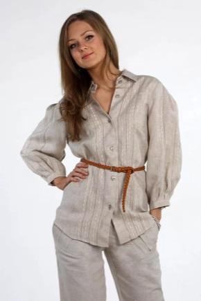 Жіночий одяг з льону