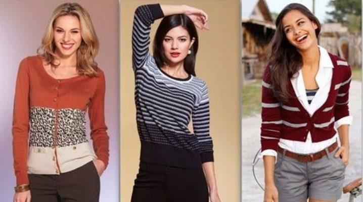 Відмінності светри, кардигани, светри і жакети