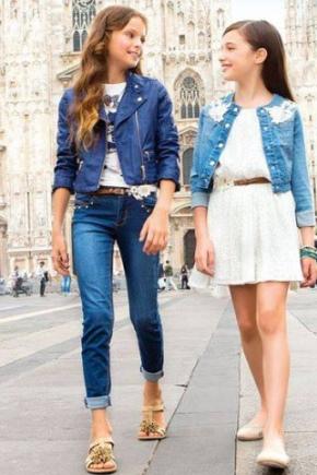 Модний одяг для дівчаток 12-14 років
