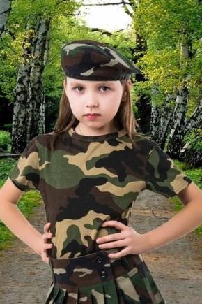 Камуфляжний одяг для дітей