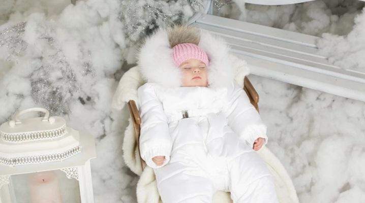 Зимовий одяг для новонароджених