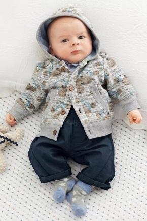 В'язана одяг для новонароджених